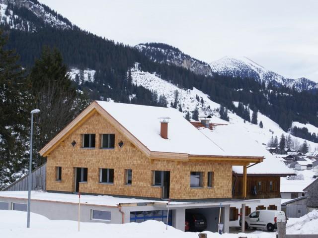 Holzhaus in Tirol