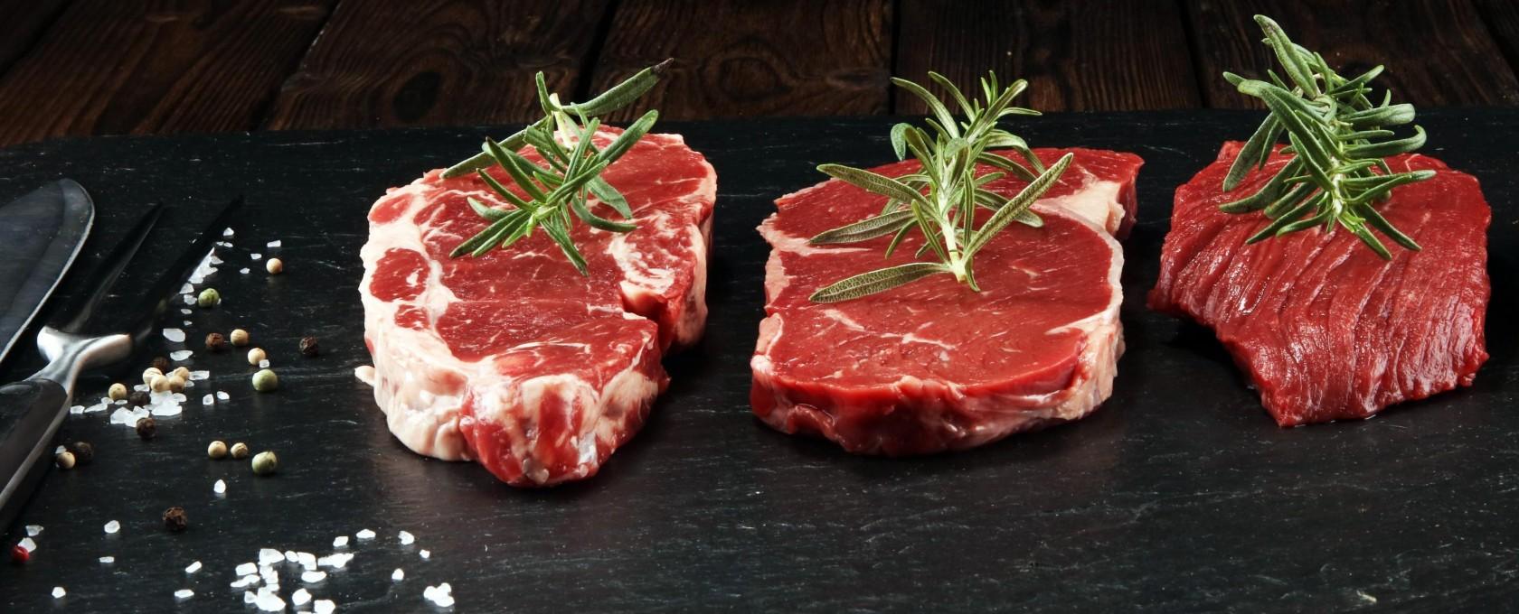 Bestes Angus Fleisch aus schonender Schlachtung