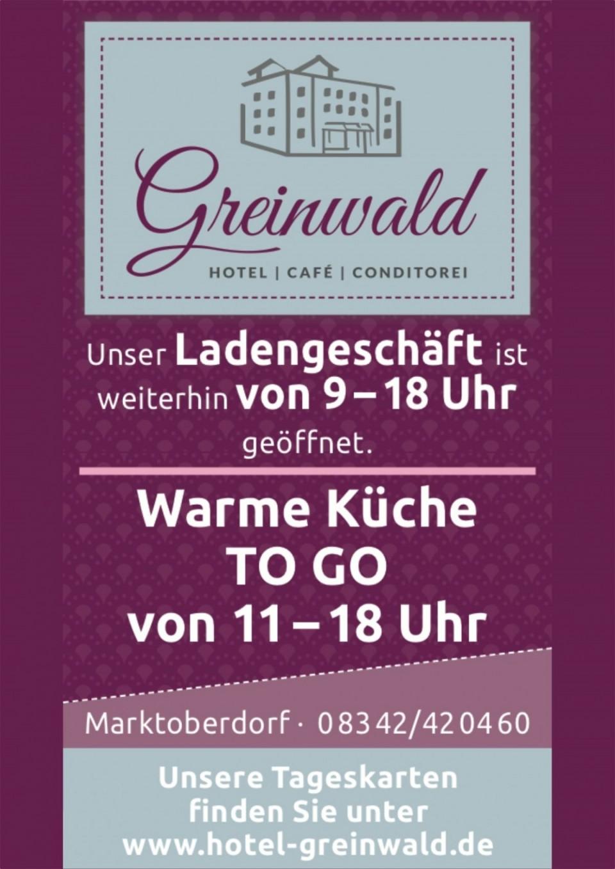 Greinwald Corona Update