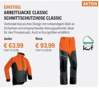 Husqvarna Schnittschutzbekleidung - Aktion