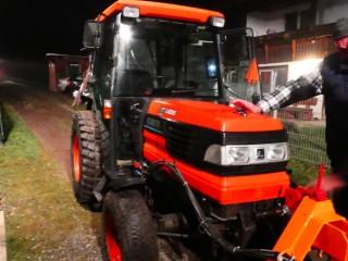 Kubota L4200 gebraucht wird an neuen Kunden übergeben!