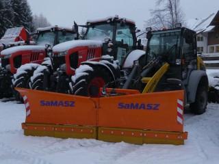 Samasz Vario Schneepflug für Radlader
