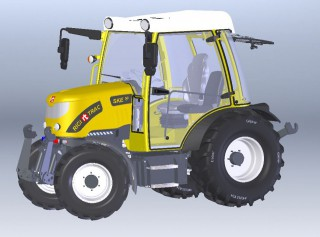 Knüsel präsentiert neuen e-Traktor SKE 50!
