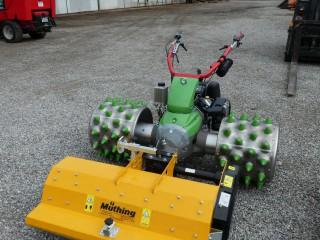 Ein neuer Rapid Monta mit Muthing Mulchgerät und Portalmähwerk!