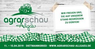 Einladung zur AGRARSCHAU ALLGÄU LANDWIRTSCHAFTSMESSE IN DIETMANNSRIED