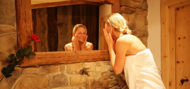 Wellnessbereich und Sauna