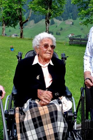Älteste Talbewohnerin