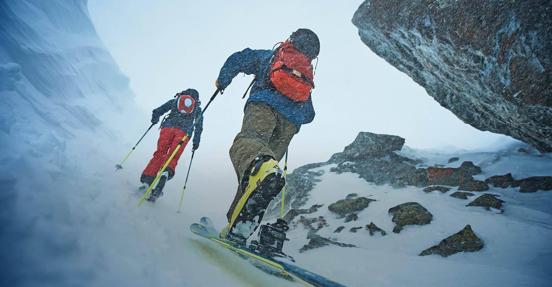 Schnee ist <br> unsere <br> Leidenschaft.