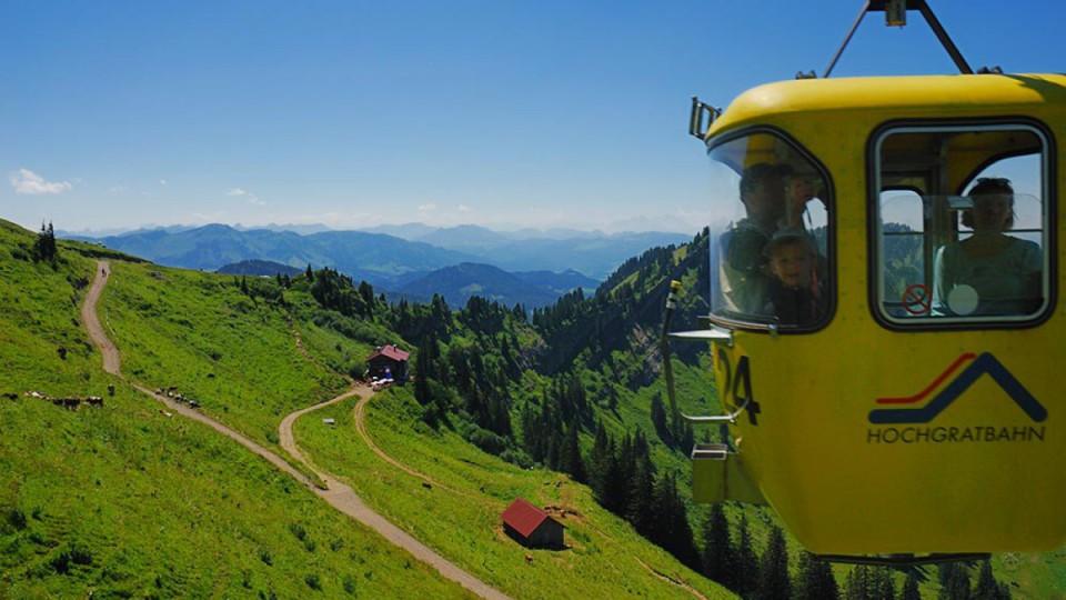 Hochgratbahn Sommer