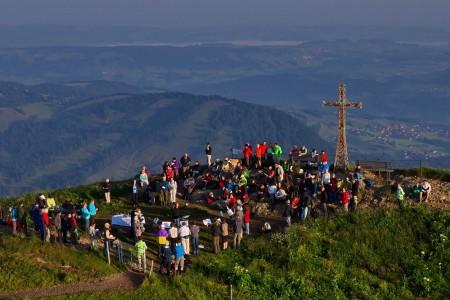 Sonnenaufgangsfahrt am 01.08. mit Berggottesdienst