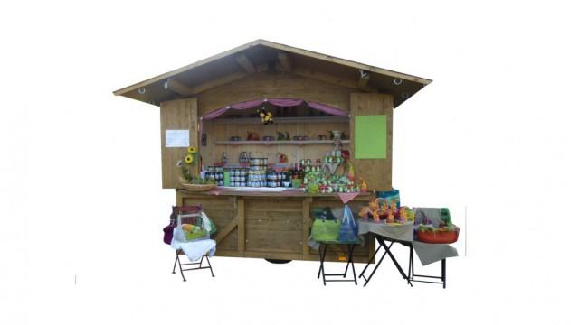 mobile Hütte Senkomat