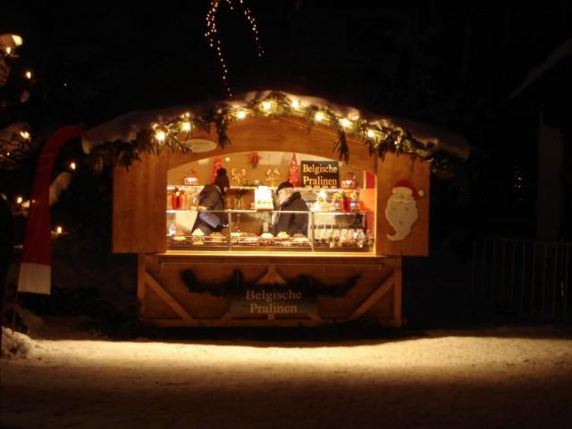 zerlegbare Verkaufshütte - Verkaufsbude - Markthütte