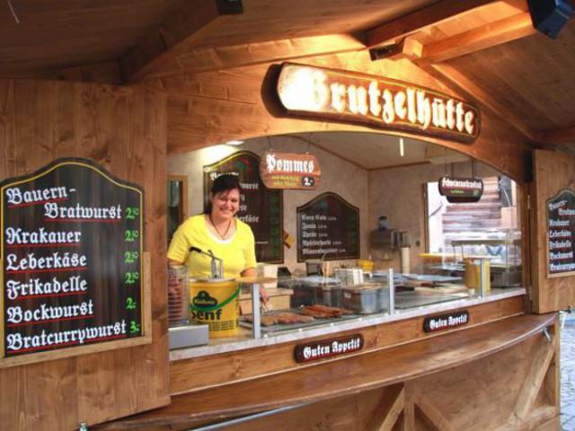 Bratwursthütte, Markthütte