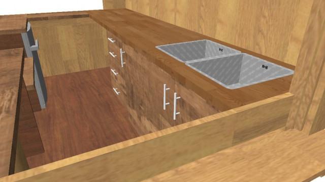 CAD 3D Bild fotoreal während Planungsphase