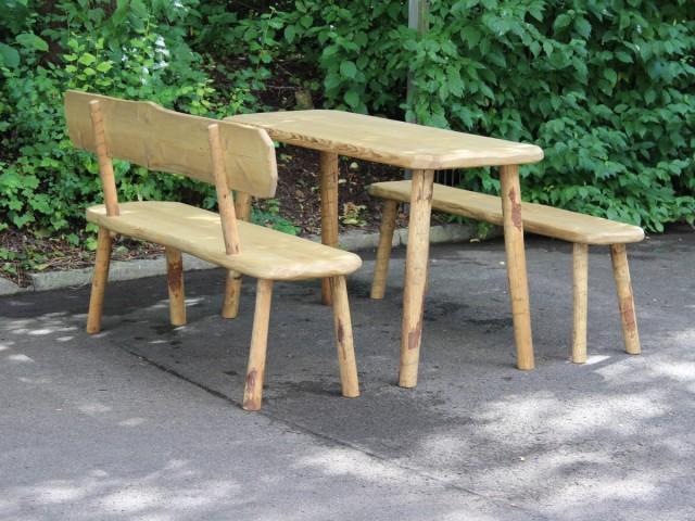 Tisch Bänke Rustikal