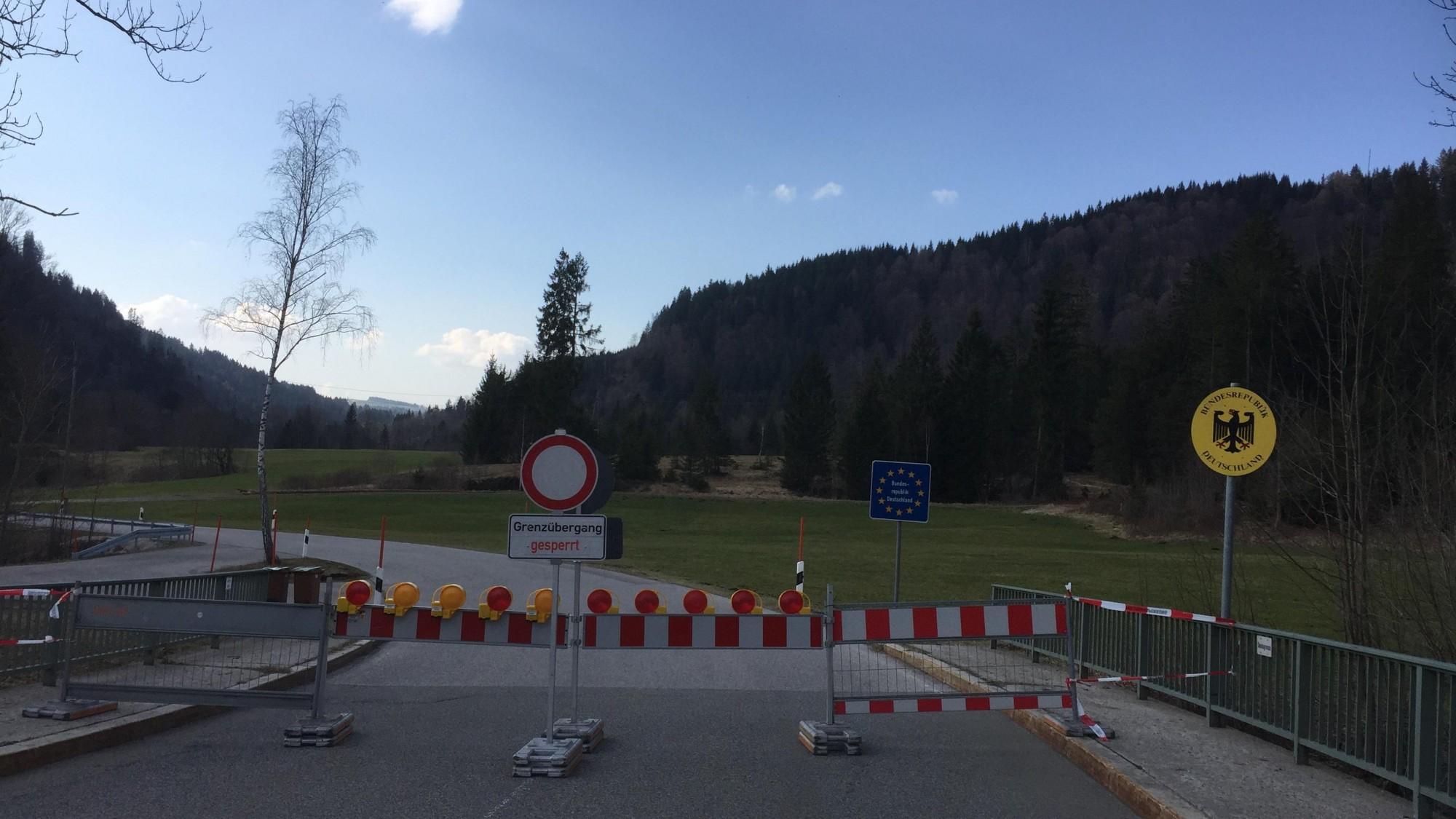 Grenzübergang Habsbichl