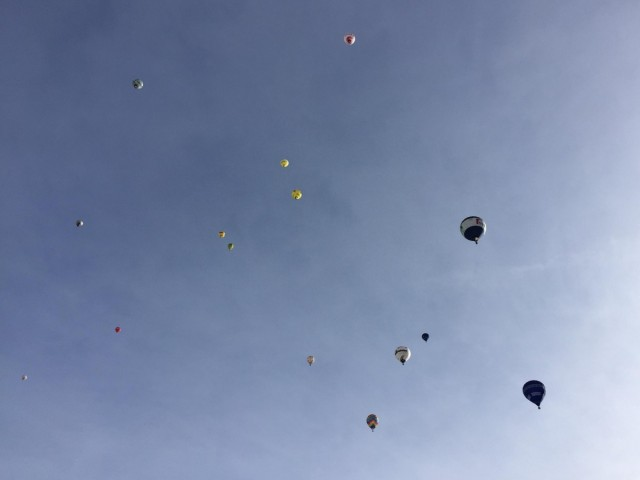 so sieht zur Zeit der Himmel über uns aus!