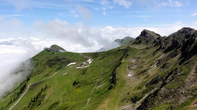Berge im Kleinwalsertal