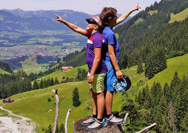Urlaub in den Alpen in Vorarlberg