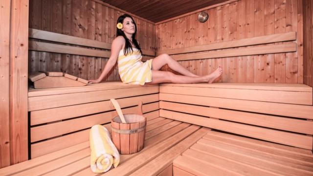 Hotel mit Sauna