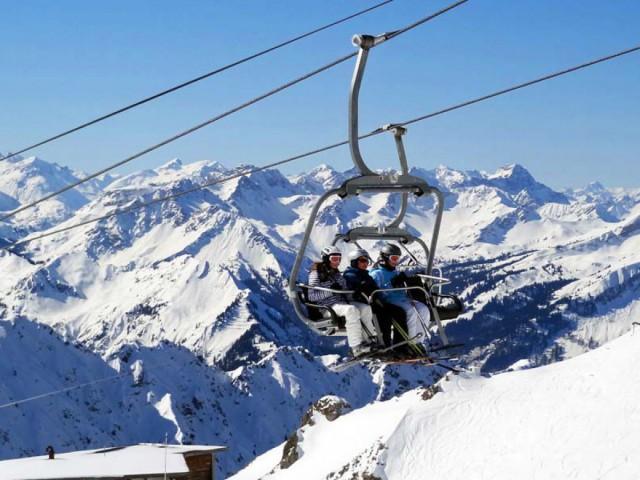 Skiurlaub mit Familie und Kindern