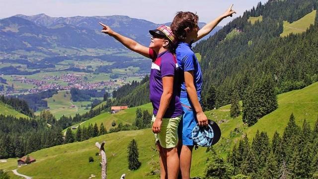 Urlaub mit Familie Österreich