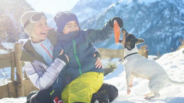 Familienurlaub im Winter im Kleinwalsertal
