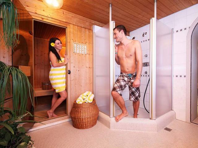 Sauna & Wellness-Dusche