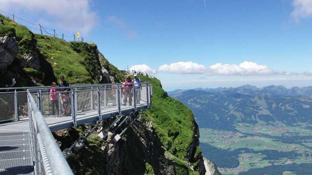 Nordwandsteig Nebelhorn