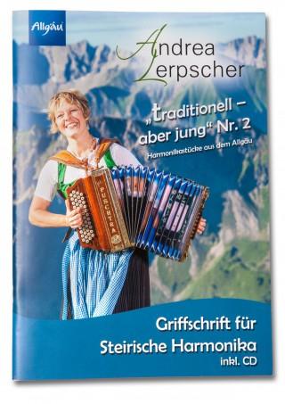 Griffschrift für Steirische Harmonika inkl. CD, Fingersatz