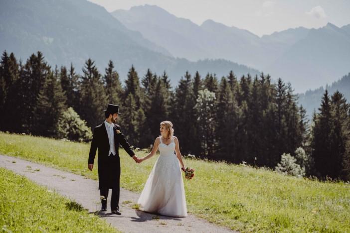 Standesamtliche Hochzeit in Hindelang