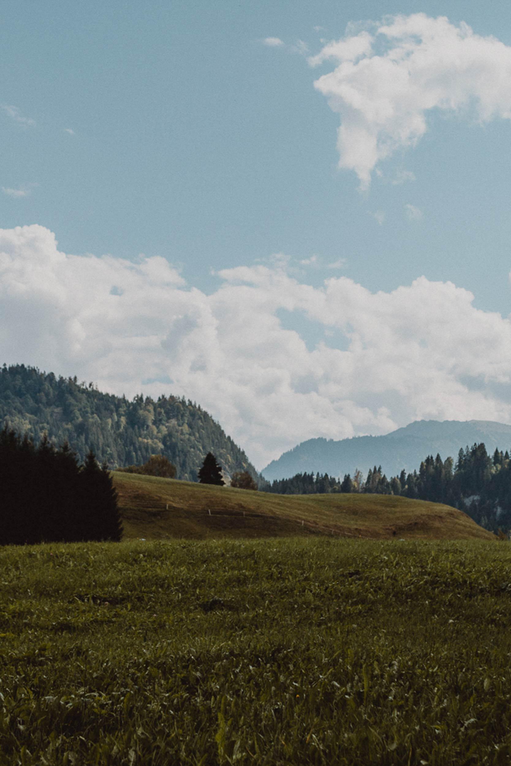 Landschaft bei Obermaiselstein