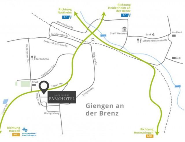 Ladestation A7 in Giengen bei Ulm: Das 4 Sterne Parkhotel für E-Autofahrer