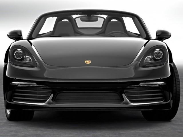 Porsche Cabrio Boxster 718 von vorne: Schicke Modelle zum Ausleihen im Hotel