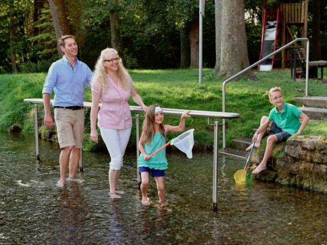 Urlaub in Langenau mit Seen in der Nähe, Hallenbad und Freibad