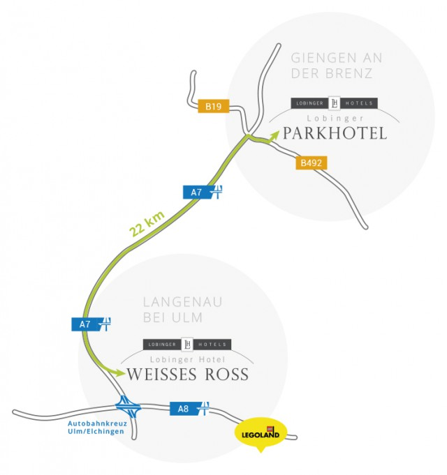 Hotels mit Ladestation finden: E-Auto Laden bei den Lobinger Hotels