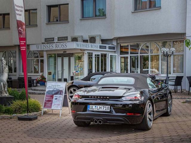 Porsche Verleih direkt im Hotel: Porsche fahren während Ihres Aufenthaltes