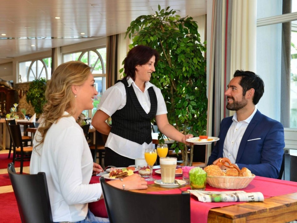 Essen gehen im Lobinger Hotel Langenau Restaurant
