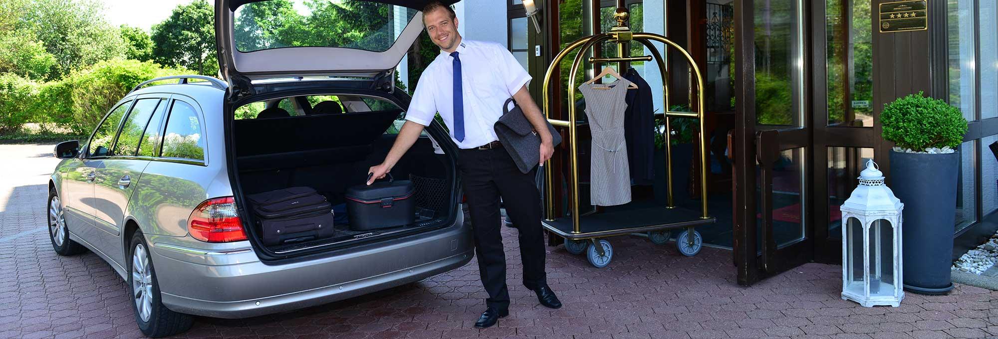 Kostenloser Hotel Shuttle Service