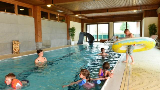 Kinderfreundliches Schwimmbad