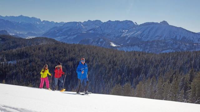 Schneeschuhwandern in Nesselwang