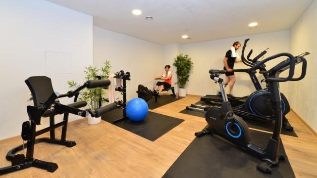 Unser Hotel verfügt über einen eigenen Fitnessraum