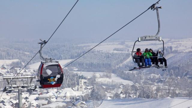 Skifahren und Wintersport in Nesselwang: Bergbahn