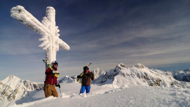Abwechslung pur im Skigebiet