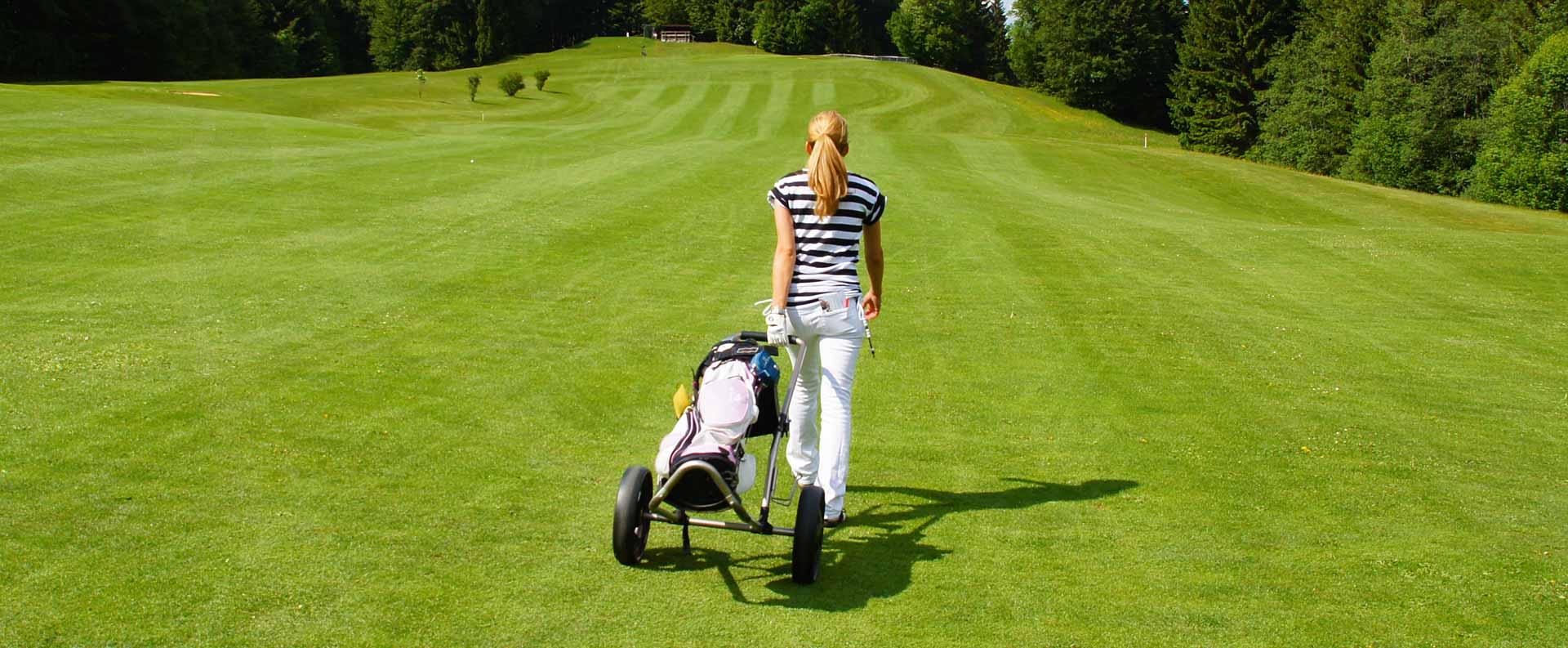 Golfen in