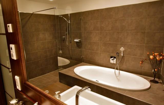 Badezimmer - moderne Einrichtung