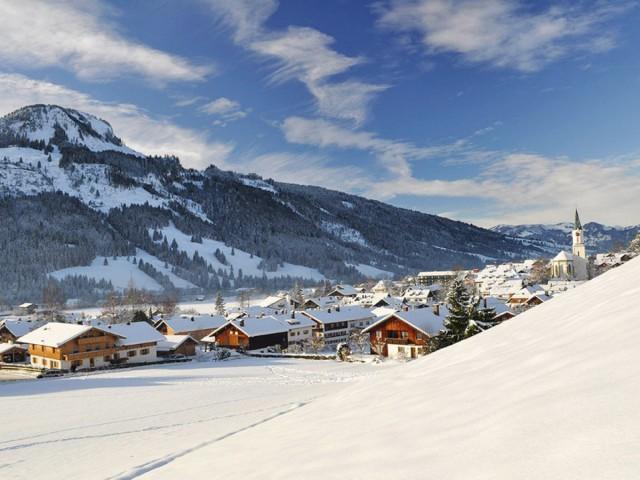 Winter in Bad Hindelang