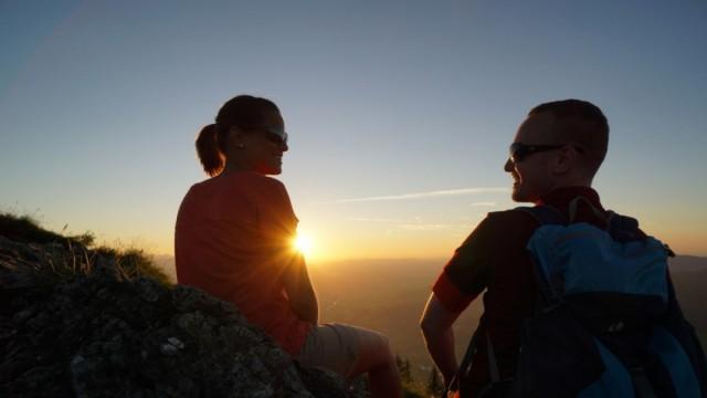 Sonnenuntergangsfahrten mit den Bergbahnen (Bad Hindelang Plus Leistung)