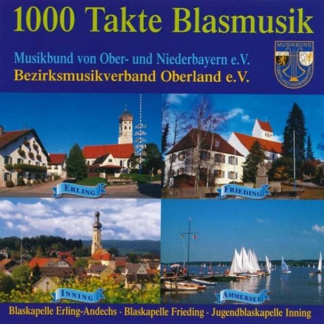 1996 dritte CD 1000 Takte Blasmusik