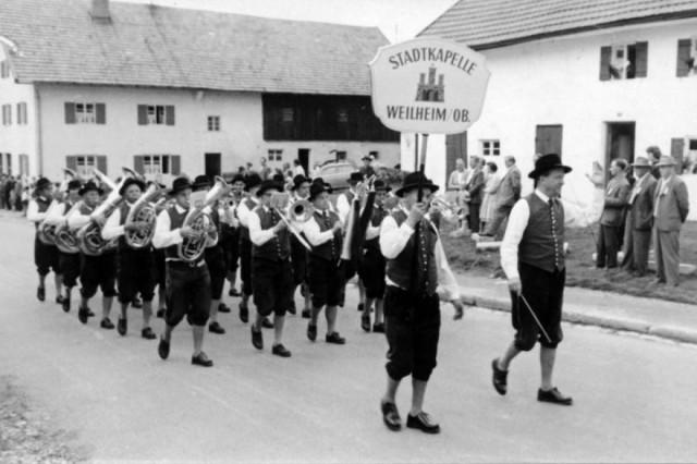 1960 Musikfest Peiting